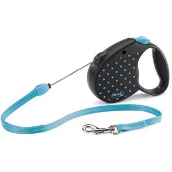 Flexi рулетка Color S (до 12 кг) трос 5 м голубая