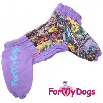 Дождевик фиолетовый для девочек. Размер C1