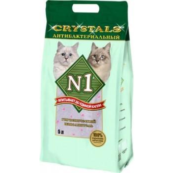 Наполнитель №1 Crystals - антибактериальный силикагелевый 5л