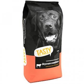 TASTY для взрослых собак с говядиной 15 кг.