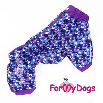 Дождевик фиолет для мальчиков. Размер 10Chh