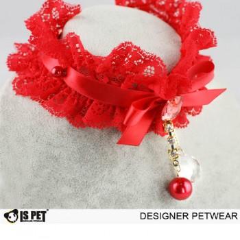 Ожерелье красное. 22-28 см.